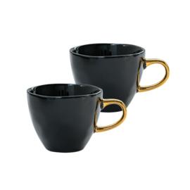 Urban Nature Culture - Good Morning cup mini - black - set van 2 in giftpack