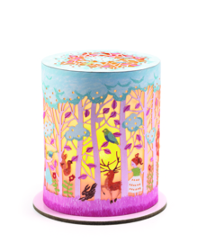 DJECO klein papieren nachtlampje  - het magische bos