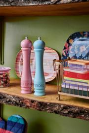 RICE houten peper- of zoutmolen - roze (nieuwe collectie AW2020)