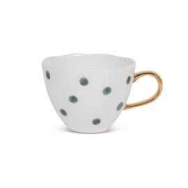 Urban Nature Culture - Good Morning cup mini - small dots - blue green