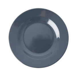 RICE melamine lunchbord - Dark Grey