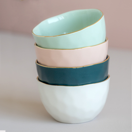 Urban Nature Culture - Good Morning bowl - blue green