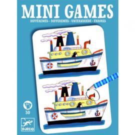DJECO Mini Games - Zoek de verschillen -  6 jr. +