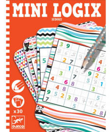 DJECO Mini Logix - Sudoku -  6 jr. +