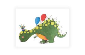 Illeke A5 kaart & envelop Lara de Dino