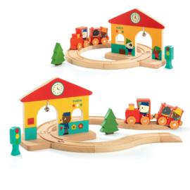 DJECO houten Minitrain -  18 mnd. +