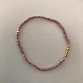 Loffs armband Tiny - paars