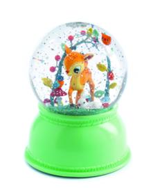 DJECO sneeuwbol nachtlampje - hertje