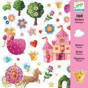 DJECO 160 stickers - thema prinsessen 4 jr. +