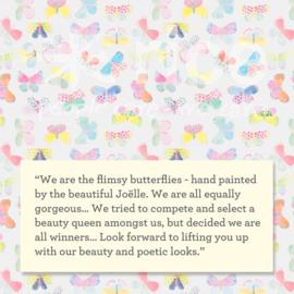 RICE melamine schaaltje two tone - butterfly print