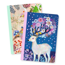 DJECO Lovely Paper - 2 small notebooks Martyna