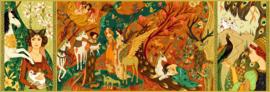 DJECO Puzzel Unicorn Garden (500 stukjes) 8 jr. +