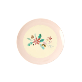 RICE melamine dessertbord 16cm - Christmas print (nieuwe collectie High Winter 2019)