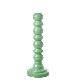 RICE metalen kandelaar - smaragd groen (nieuwe collectie AW2020)