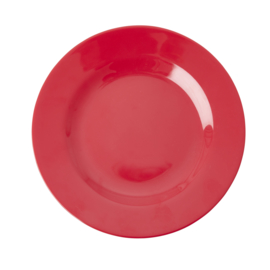 RICE melamine lunchbord - red kiss