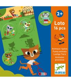 DJECO Lotto Funny Animals  -  2 jr.  +