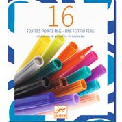 DJECO Thin markers 4 jr. +