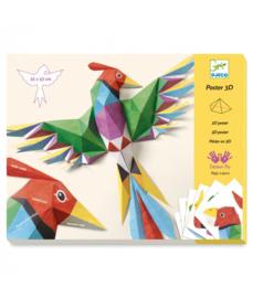 DJECO 3D poster maken - Amazonie -  8 jr. +