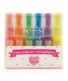 DJECO Lovely Paper - Mini Neon Markers