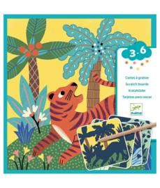 DJECO Kraskaart - Big Animals  3 jr. +