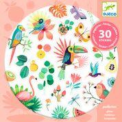 DJECO 30 glitter stickers - Paradise 4 jr. +