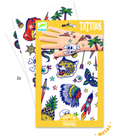Tattoos - thema bang bang (met metallic) 3 jr. +