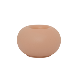 Urban Nature Culture - waxinelichthouder Bubble - Cameo Brown