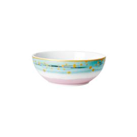 RICE schaaltje porselein - Breakfast Bowl - Dip Dye print