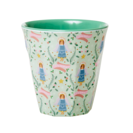 RICE beker - Xmas Angel print (AW21 kerst collectie)