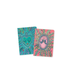 DJECO Lovely Paper - 2 small notebooks Love Aurélia