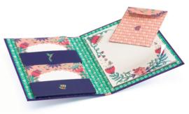 DJECO Lovely Paper - Schrijfset (briefpapier + enveloppen) Melissa