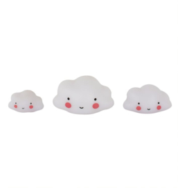 A Little Lovely Company - set van 3 mini's:  wolk