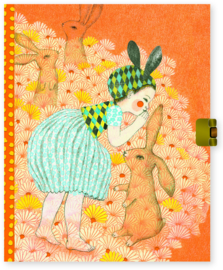 DJECO Lovely Paper - Secrets Notebook Elodie