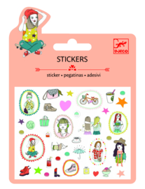 DJECO Mini stickers - mode (glitter) 3 jr. +