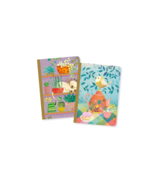 DJECO Lovely Paper - 2 small notebooks Rose