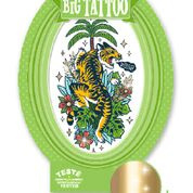 Tattoos - Big Tattoo tijger  6 jr. +
