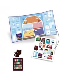 DJECO Create with Stickers - Huis  18 mnd. +
