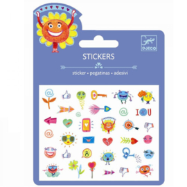 DJECO Mini stickers - symbolen 3 jr. +