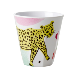 RICE beker - Leopard print