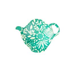 RICE theetipje  - Fern & Flower print