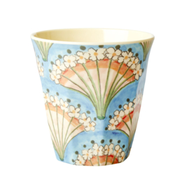 RICE beker - Flower Fan print