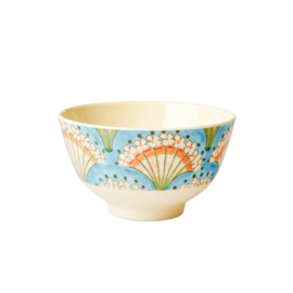 RICE melamine schaaltje - flower fan print