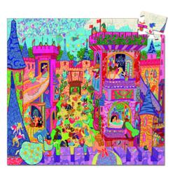 DJECO Puzzel het feeënkasteel (54 stukjes) 5 jr. +