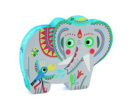 DJECO Puzzel olifant (24 stukjes) 3 jr. +