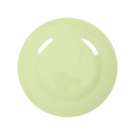 RICE melamine rond lunchbord 20cm - mint