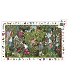 DJECO Oberservation puzzel - Garden Play Time  (100 stukjes) 5 jr. +