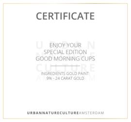 Urban Nature Culture - Small dish Circle Gold