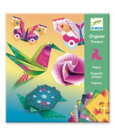 DJECO Origami tropische vogels  6 jr. +