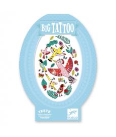 Tattoos - Big Tattoo - Birdy  6 jr. +