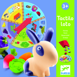 DJECO Tactilo Loto - farm  3 jr.  +